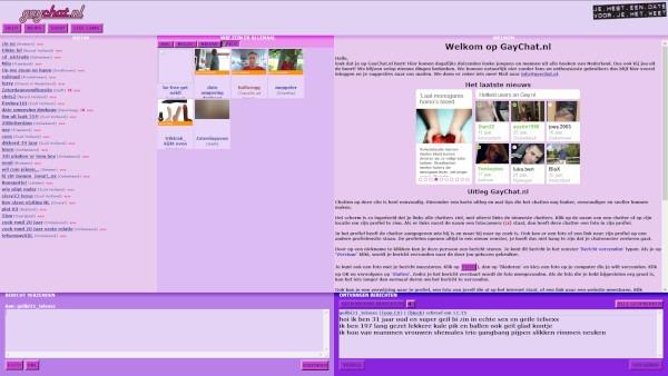 Foto weergave van de chatters