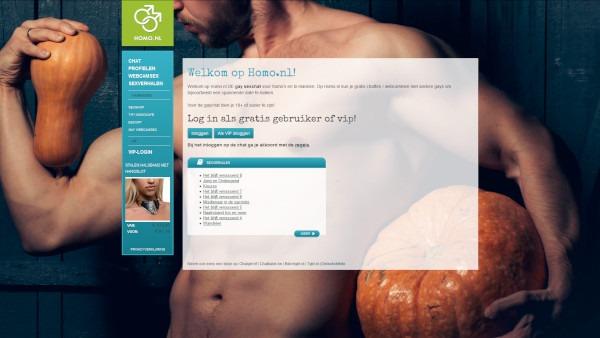 Homo.nl homepage